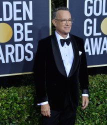 Tom Hanks attends the 77th Golden Globe Awards in Beverly Hills
