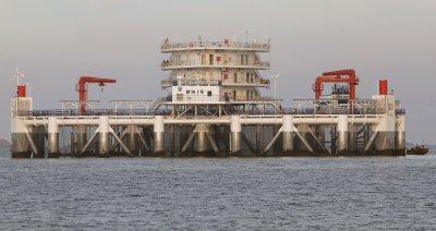 China's First Marine Ranch Platform is Anchored Off Yantai, China