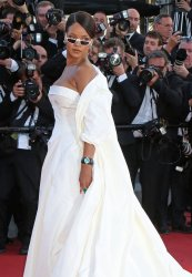 Rihanna attends the Cannes Film Festival