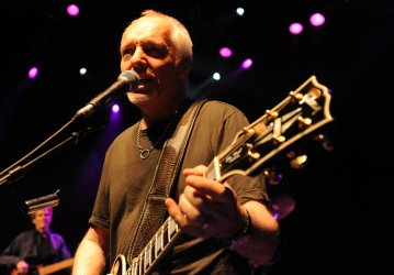 Peter Frampton performs in London