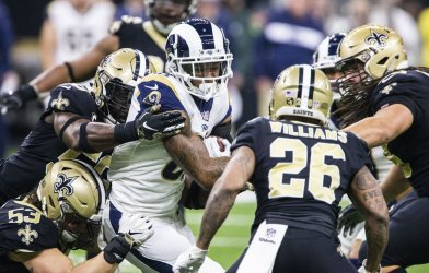 Rams defeat Saints in the NFC Championship