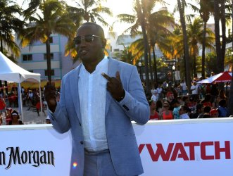 Hannibal Buress Attends the US Premiere of Baywatch in Miami Beach Florida