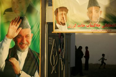 Preidential campaign in Afghanistan