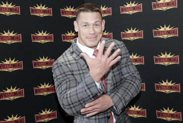 John Cena at WrestleMania new conference in New Jersey