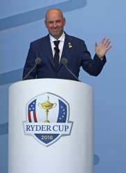 Thomas Bjorn at the Ryder Cup 2018 Opening Ceremony