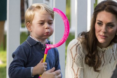 Duke and Duchess of Cambridge attend children's event in Victoria during 2016 Royal Tour