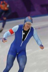 Finals Of Men's 500m Speed Skating At The 2018 Pyeongchang Winter Olympics