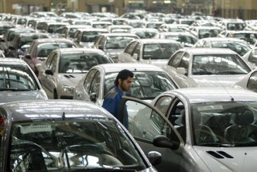 IRAN'S NATIONAL CAR ASSEMBLY LINE PRODUCING