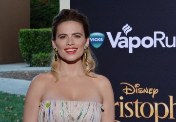 """Hayley Atwell attends the """"Christopher Robin"""" premiere in Burbank, California"""