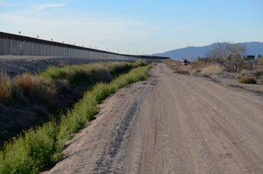 Border Fence Near El Paso, Texas