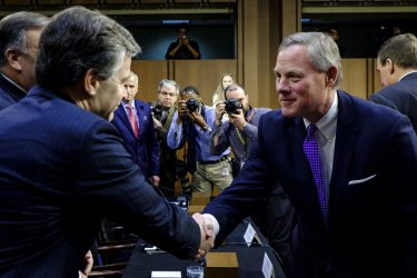 FBI Director Christopher Wray Testifies Before the Senate Select Intelligence committee