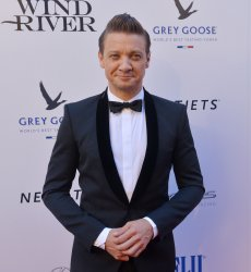 """Jeremy Renner attends the """"Wind River"""" premiere in Los Angeles"""