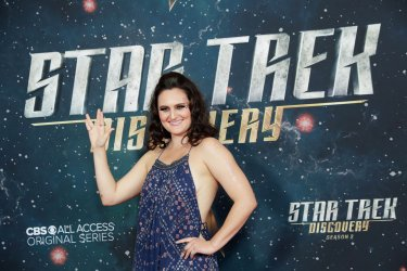 Mary Chieffo at the 'Star Trek: Discovery' premiere