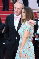 Francois-Henri Pinault and Salma Hayek attend the Cannes Film Festival