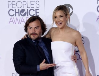 Jack Black and Kate Hudson attend the 42nd annual People's Choice Awards in Los Angeles