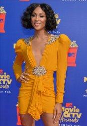 Mj Rodriguez attends the MTV Movie & TV Awards in Santa Monica, California