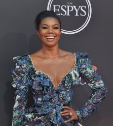Gabrielle Union attends the 27th annual ESPY Awards in Los Angeles