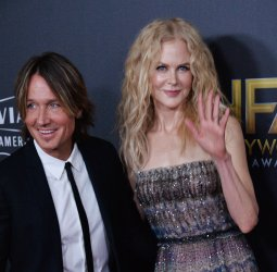 Nicole Kidman and Keith Urban attend the 22nd annual Hollywood Film Awards in Beverly Hills