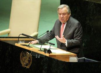 United Nations Secretary-General Antonio Guterres at the UN GA