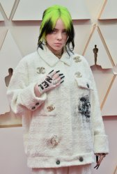 Billie Eilish arrives for the 92nd annual Academy Awards in Los Angeles