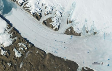 A Satellite View of Earth's Changing Ice