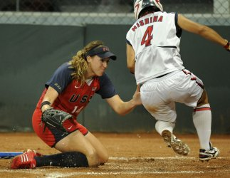Japan win's gold medal in women's softball
