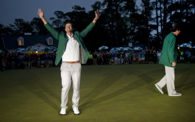 Adam Scott wins the 2013 Masters in Augusta, Georgia.