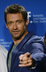 Hugh Jackman attends 'Prisoners' press conference at the Toronto International Film Festival