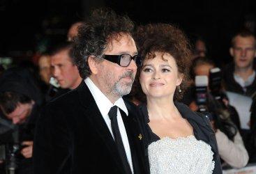 "Tim Burton and Helena Bonham carter attend The Screening of ""Frankenweenie 3D"" in London"