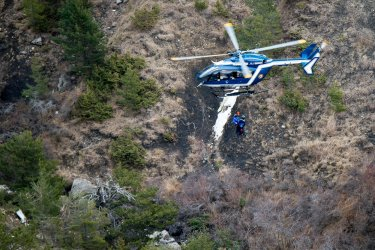 Crash of the A320 passenger flight in the French Alps