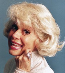 Diamond lover Carol Channing wears $8 million, 85.91 carat, D-flawless and colorless gem