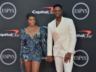 Gabrielle Union and Dwyane Wade attend the 27th annual ESPY Awards in Los Angeles