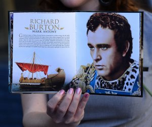 Richard Burton receives a posthumous star on the Hollywood Walk of Fame in Los Angeles