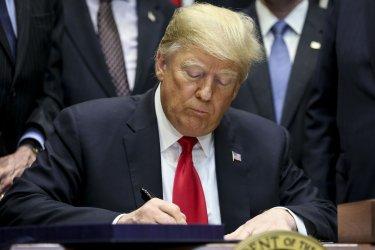 "President Trump signs the ""'Orrin G. Hatch-Bob Goodlatte Music Modernization Act'"