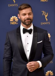 Ricky Martin attends the 70th annual Primetime Emmy Awards in Los Angeles