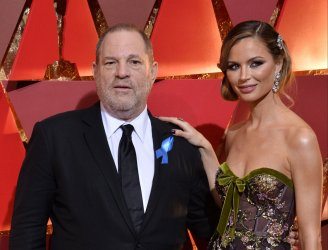 Harvey Weinstein arrives for the 89th annual Academy Awards in Hollywood