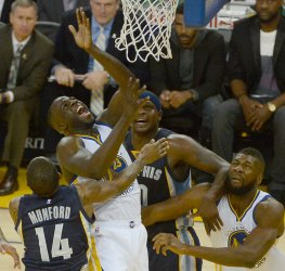 Golden State Warriors Draymond Green yells