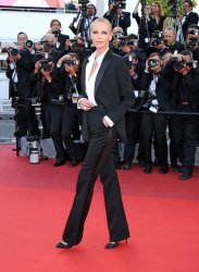 Charlize Theron attends the Cannes Film Festival