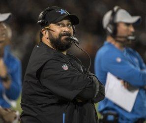 Detroit Lions Head Coach Matt Patricia plays Raiders in Oakland