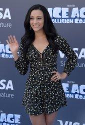 "Danielle Vega attens the ""Ice Age: Collision Course"" premiere in Los Angeles"
