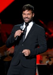 Ricky Martin onstage at the Latin Grammy Person of the Year gala in Las Vegas