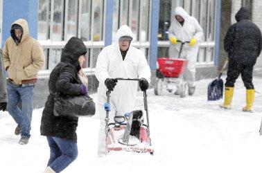 Winter Storm Slams New York