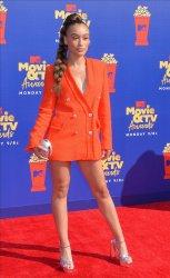 Nezza attends the MTV Movie & TV Awards in Santa Monica, California
