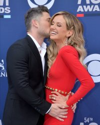 Michael Ray and Carly Pearce attend the Academy of Country Music Awards in Las Vegas