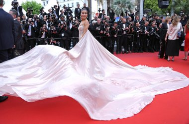 Camila Coelho attends the Cannes Film Festival