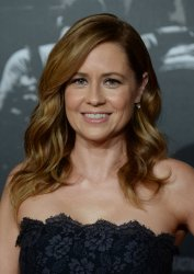 "Jenna Fischer attends ""The 15:17 to Paris"" premiere in Burbank, California"