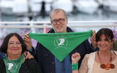 Juan Solanas attends the Cannes Film Festival