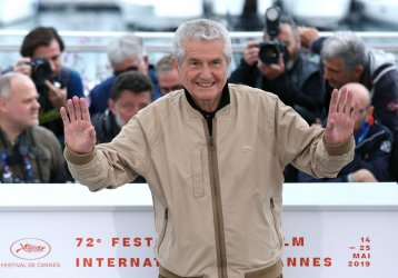 Claude Lelouch attends the Cannes Film Festival
