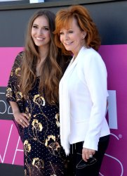 Lauren Daigle and Reba McEntire attend the 52nd annual Academy of Country Music Awards in Las Vegas