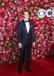 Andrew Garfield arrives at the Tony Awards